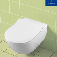 Set vas wc suspendat cu capac slim soft close Villeroy&Boch Subway