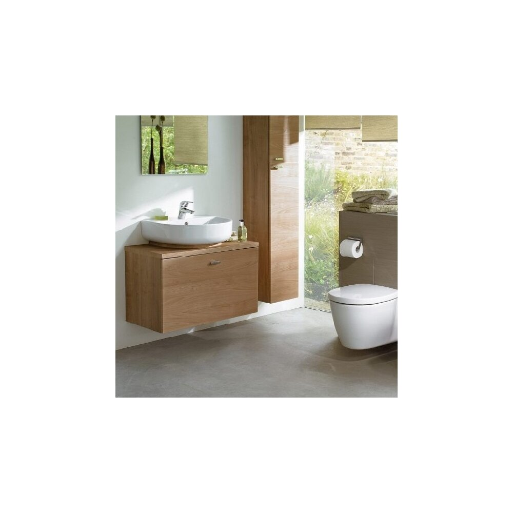 Set vas wc suspendat cu capac softclose Ideal Standard Connect Space cu fixare ascunsa imagine neakaisa.ro