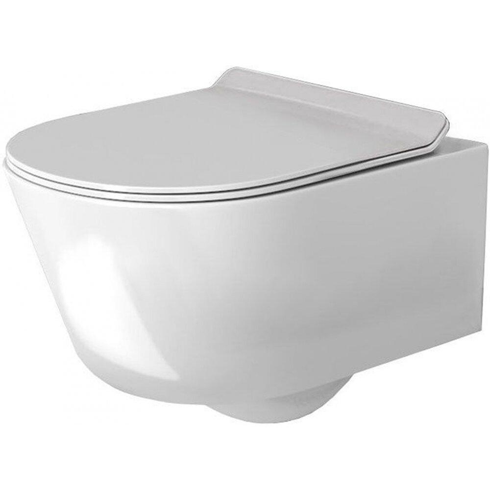 Set vas wc suspendat Rea Tores rimless capac softclose