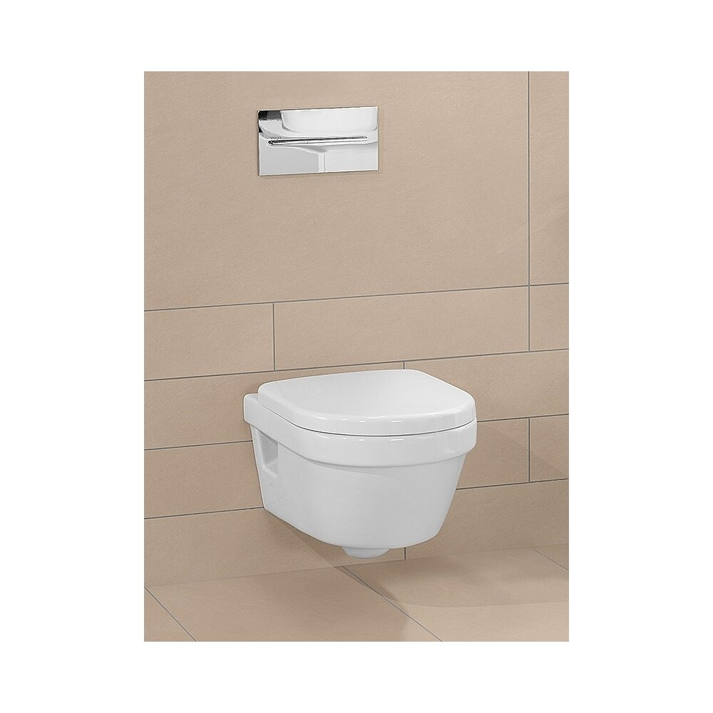 Set vas wc suspendat Villeroy&Boch Architectura Compact Direct Flush imagine neakaisa.ro