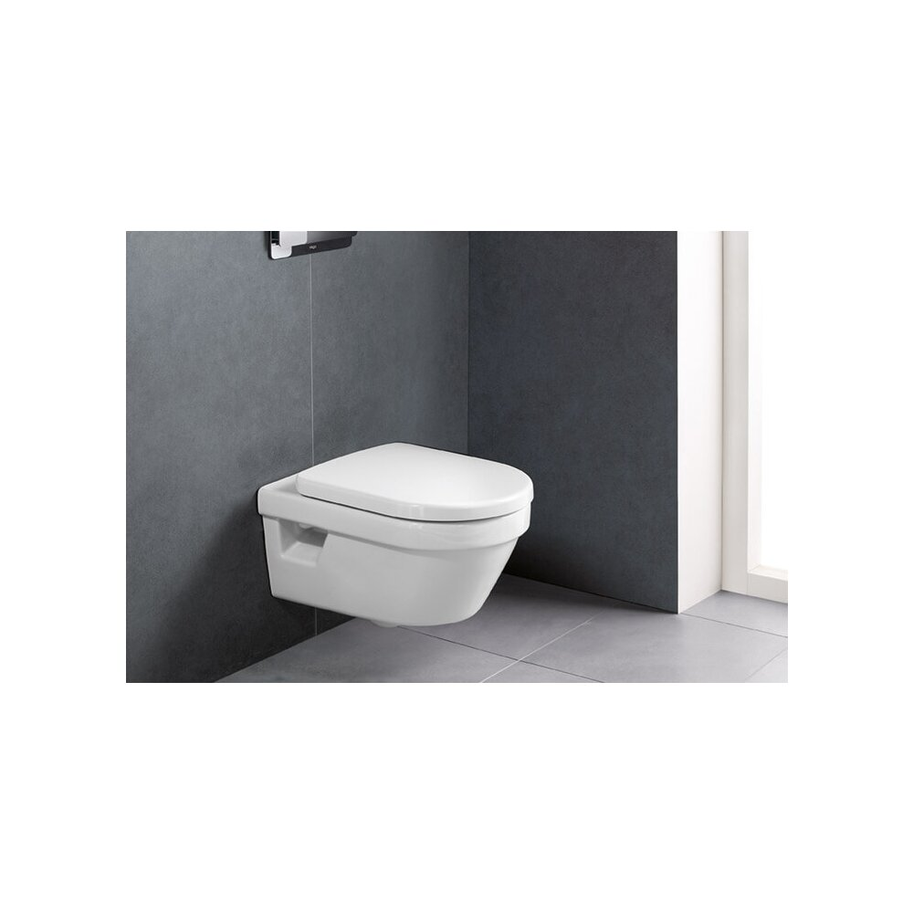 Set vas wc suspendat Villeroy&Boch Omnia Architectura DirectFlush cu capac soft close poza