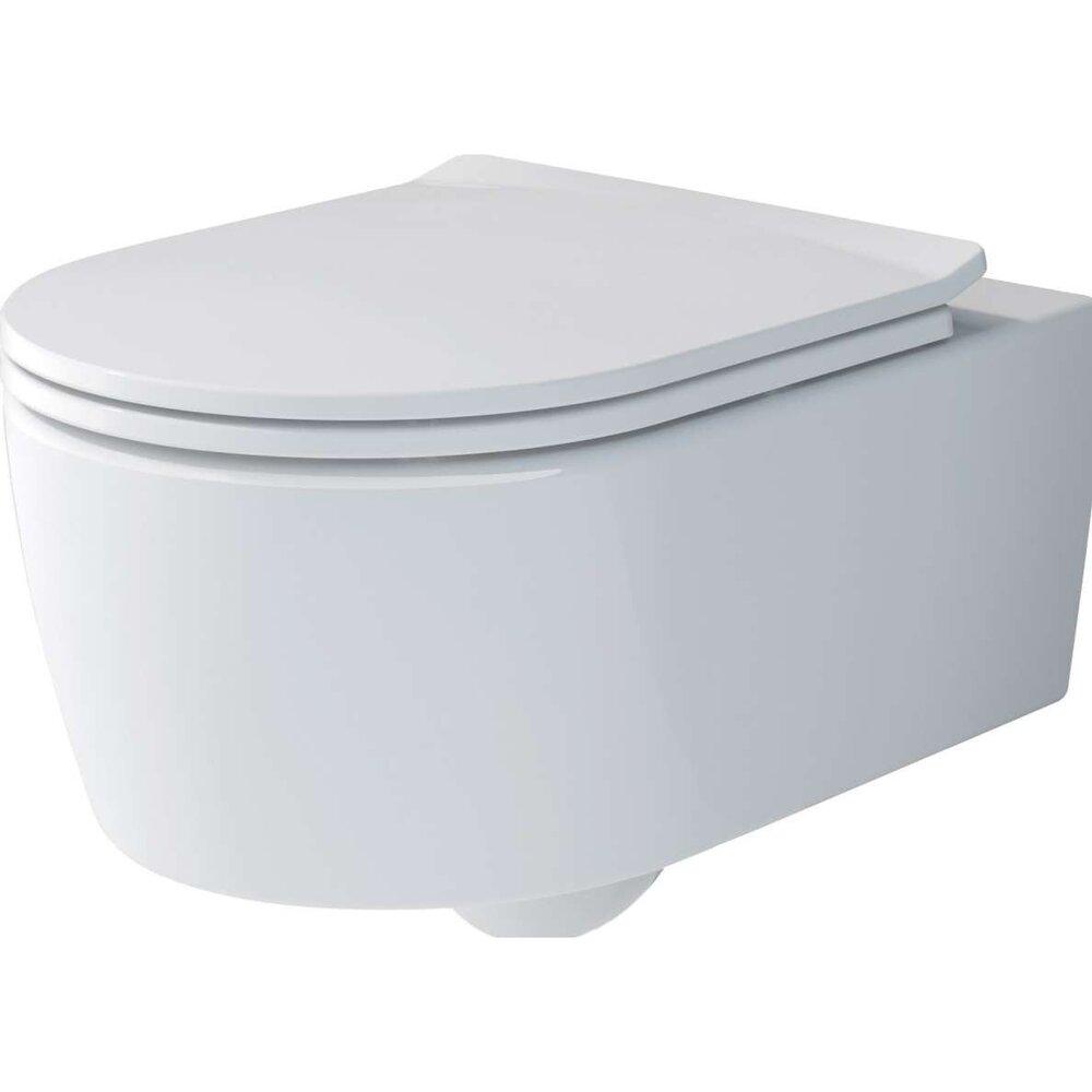 Set vas wc suspendat Villeroy&Boch Soul Direct Flush cu capac slim soft close poza