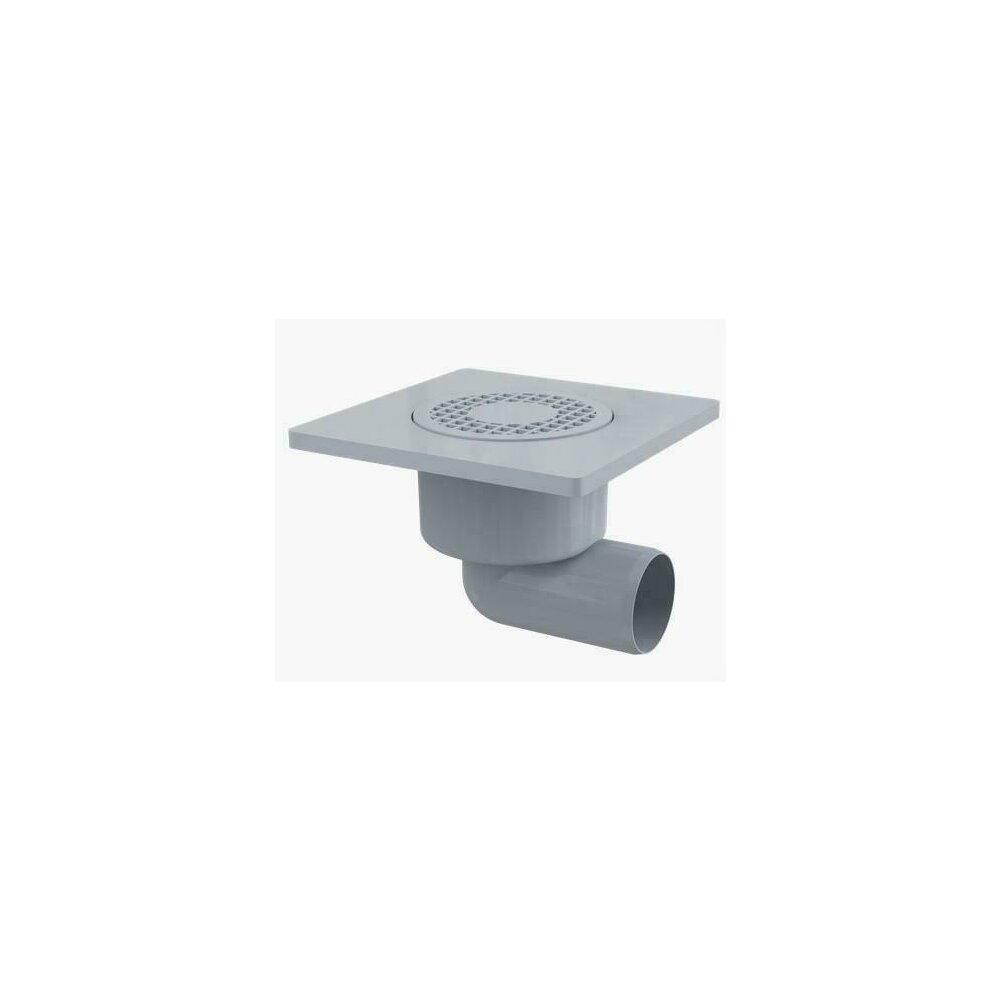 Sifon pardoseala 150 x 150/50 cu iesire laterala, sistem de retinere a mirosurilor APV3 Alcaplast poza