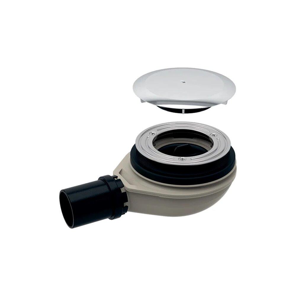 Sifon pentru cada de dus Geberit cu capac pentru ventilul de scurgere imagine