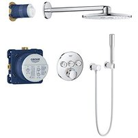 Sistem de dus cu termostat incastrat Grohe Grohtherm Smartcontrol Rainshower SmartActive 310
