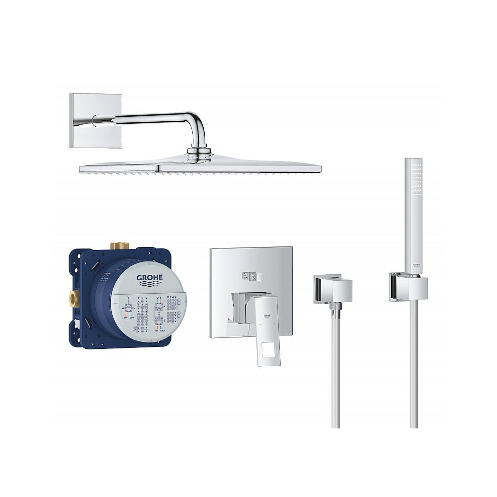 Sistem de dus incastrat Grohe Eurocube Perfect Rainshower Mono 310 Cube imagine