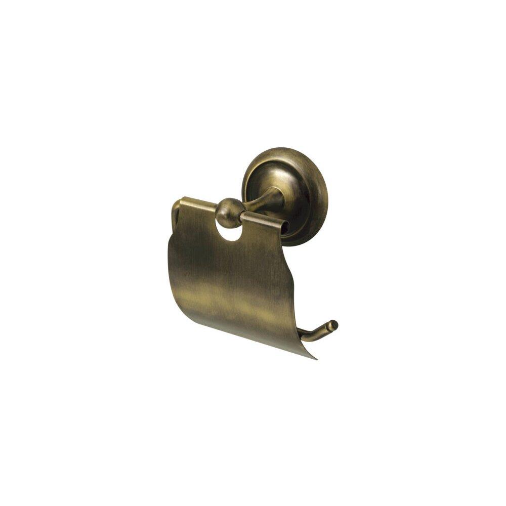 Suport hartie igienica bronz Bisk Deco