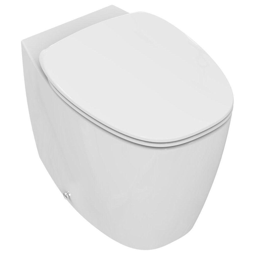 Set vas wc pe pardoseala btw Aquablade si capac softclose Ideal Standard Dea neakaisa.ro