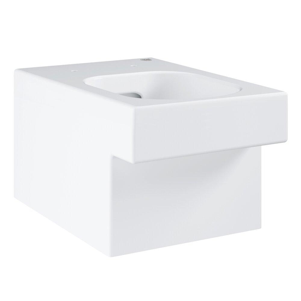 Vas toaleta suspendat Grohe Cube Ceramic Rimless Triple Vortex cu PureGuard poza