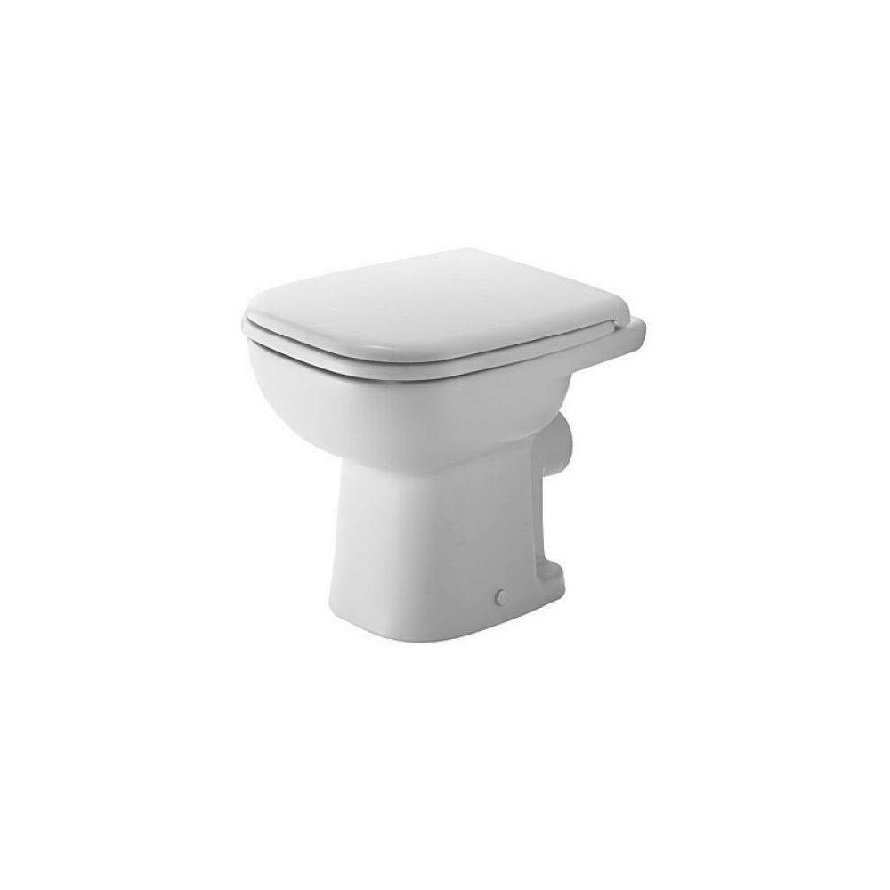 Vas wc pe pardoseala Duravit D-Code pentru rezervor independent poza