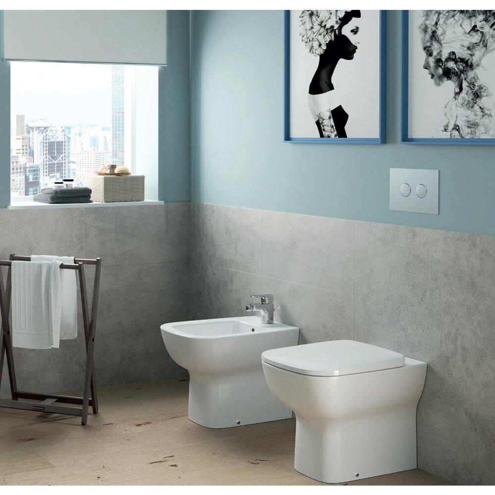 Vas wc pe pardoseala Ideal Standard Esedra btw imagine