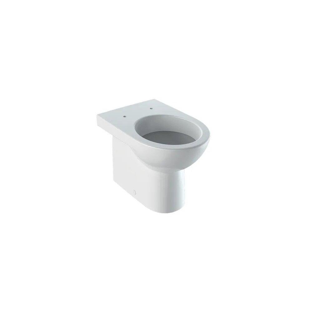 Vas wc pe pardoseala Geberit Selnova fara capac alb imagine