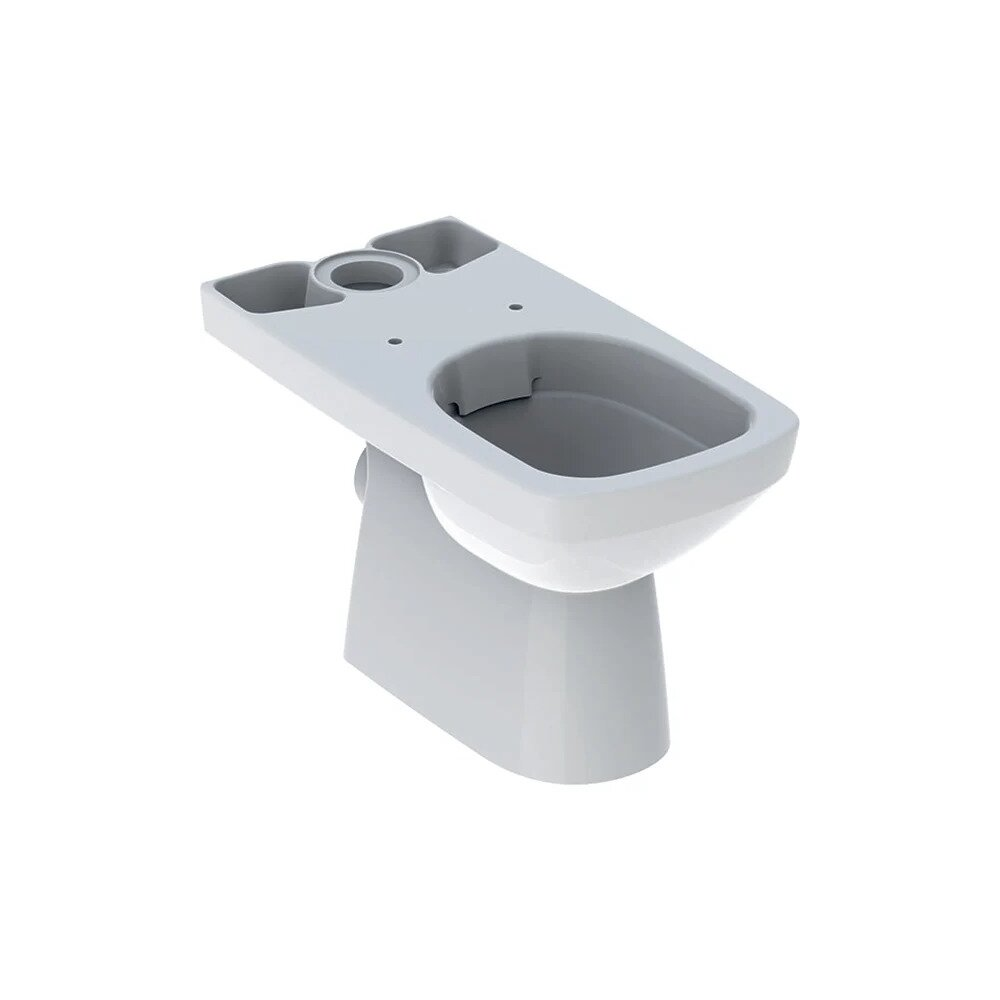 Vas wc pe pardoseala Geberit Selnova Square Rimfree cu spalare verticala neakaisa.ro