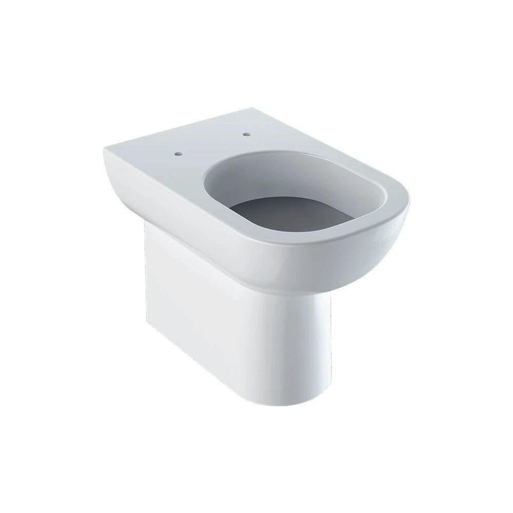 Vas wc pe pardoseala Geberit Smyle alb fara capac neakaisa.ro