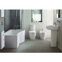 Vas wc pe pardoseala btw Ideal Standard Connect AquaBlade pentru rezervor asezat