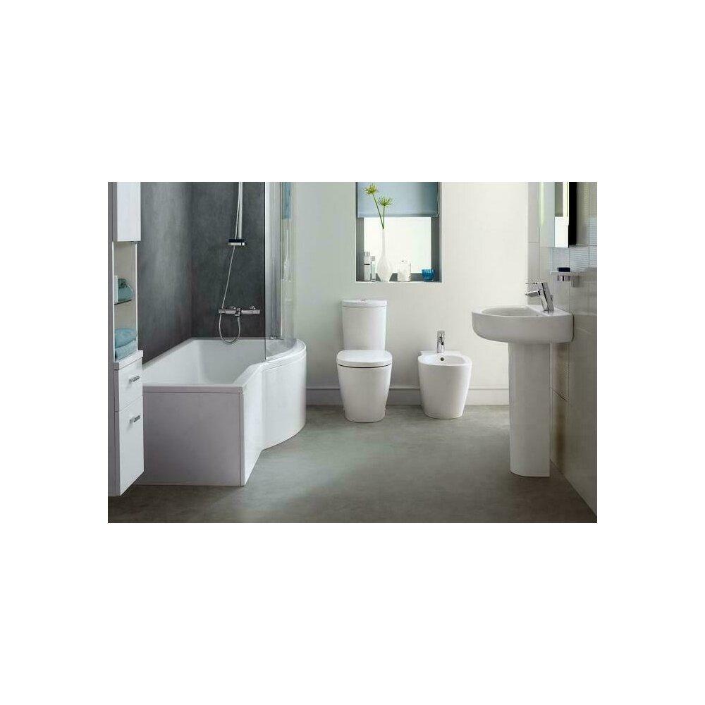 Vas wc pe pardoseala btw Ideal Standard Connect AquaBlade pentru rezervor asezat imagine
