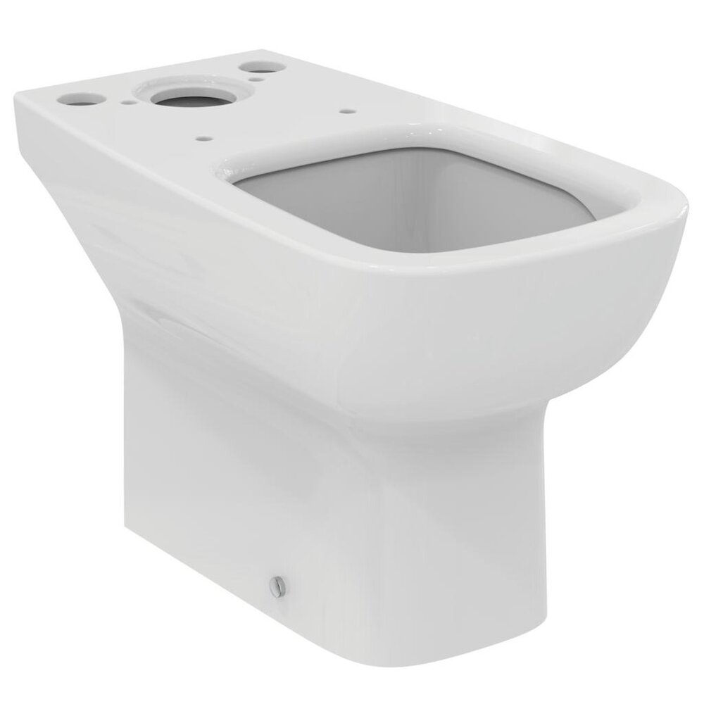 Vas wc pe pardoseala ideal Standard Esedra Aquablade cu evacuare orizontala