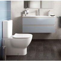 Vas wc pe pardoseala Ideal Standard Tesi alb mat