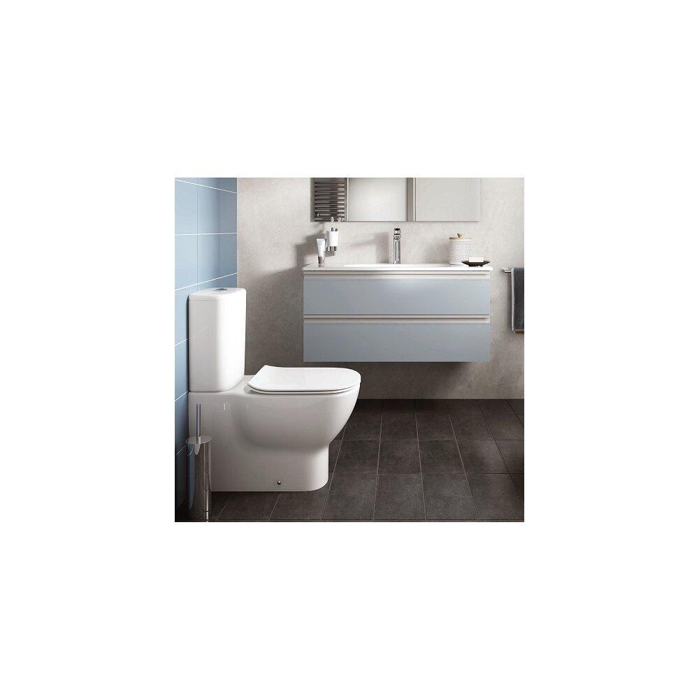 Vas wc pe pardoseala Ideal Standard Tesi alb mat neakaisa.ro