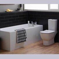 Vas wc pe pardoseala Ideal Standard Tesi Aquablade cu evacuare orizontala alb mat