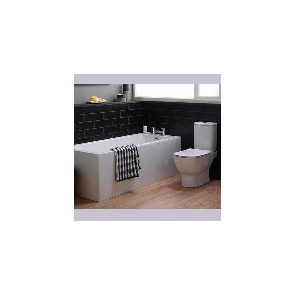 Vas wc pe pardoseala Ideal Standard Tesi Aquablade cu evacuare orizontala alb mat imagine