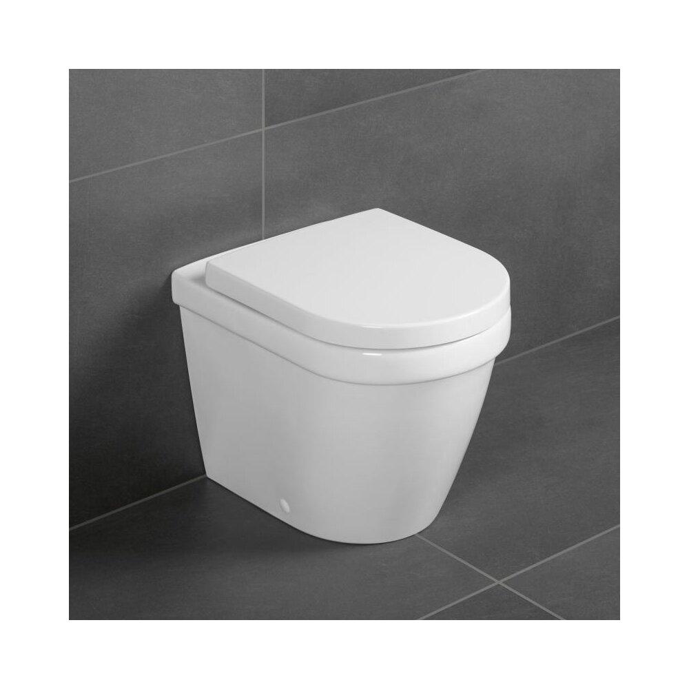 Vas wc pe pardosela btw Villeroy&Boch Omnia Architectura DirectFlush poza