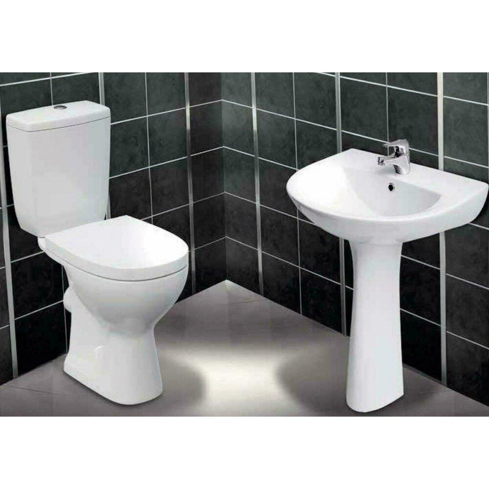 Vas de toaleta cu rezervor si capac Cersanit Senator imagine