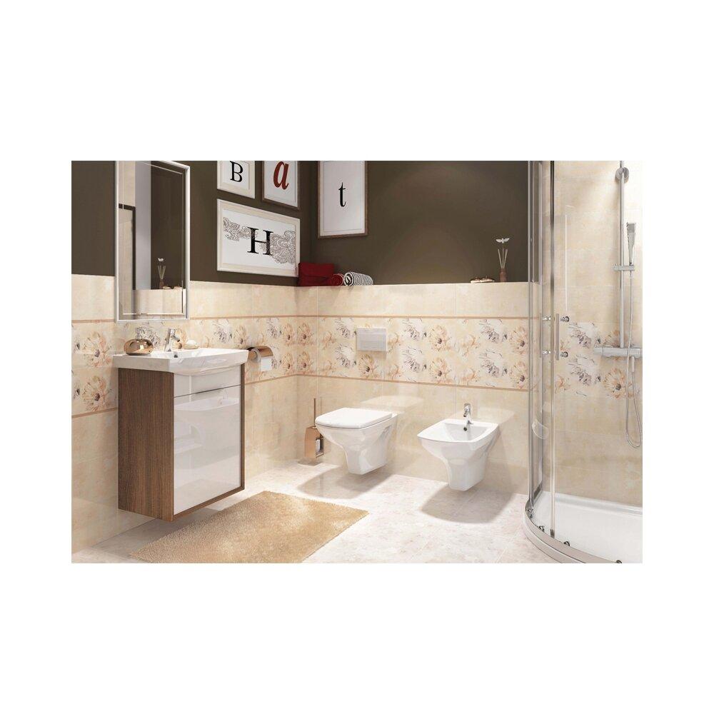 Vas wc suspendat Cersanit Carina New Clean On cu capac inchidere lenta imagine