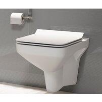 Vas wc suspendat Cersanit Como Clean On cu capac inchidere lenta