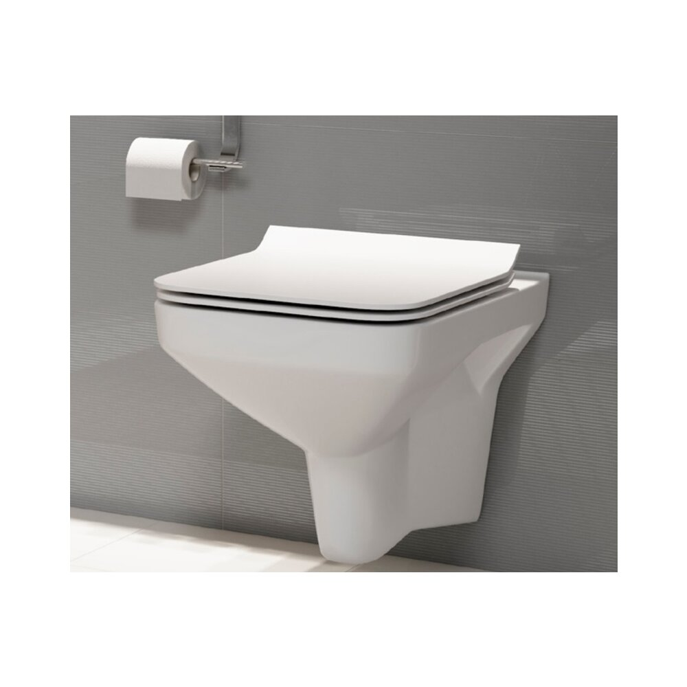 Vas wc suspendat Cersanit Como Clean On cu capac inchidere lenta poza