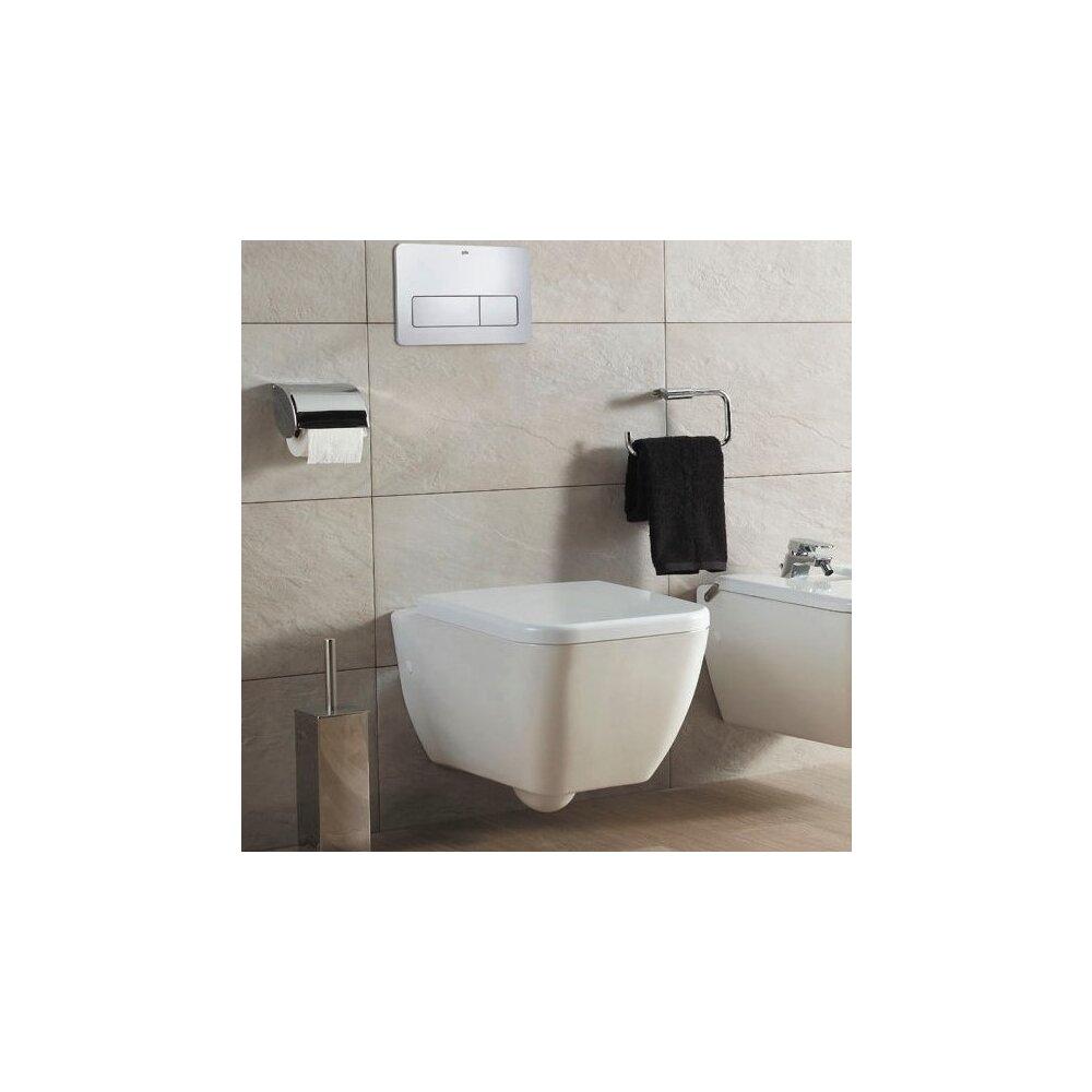 Vas wc suspendat Gala Emma Square Rimless imagine
