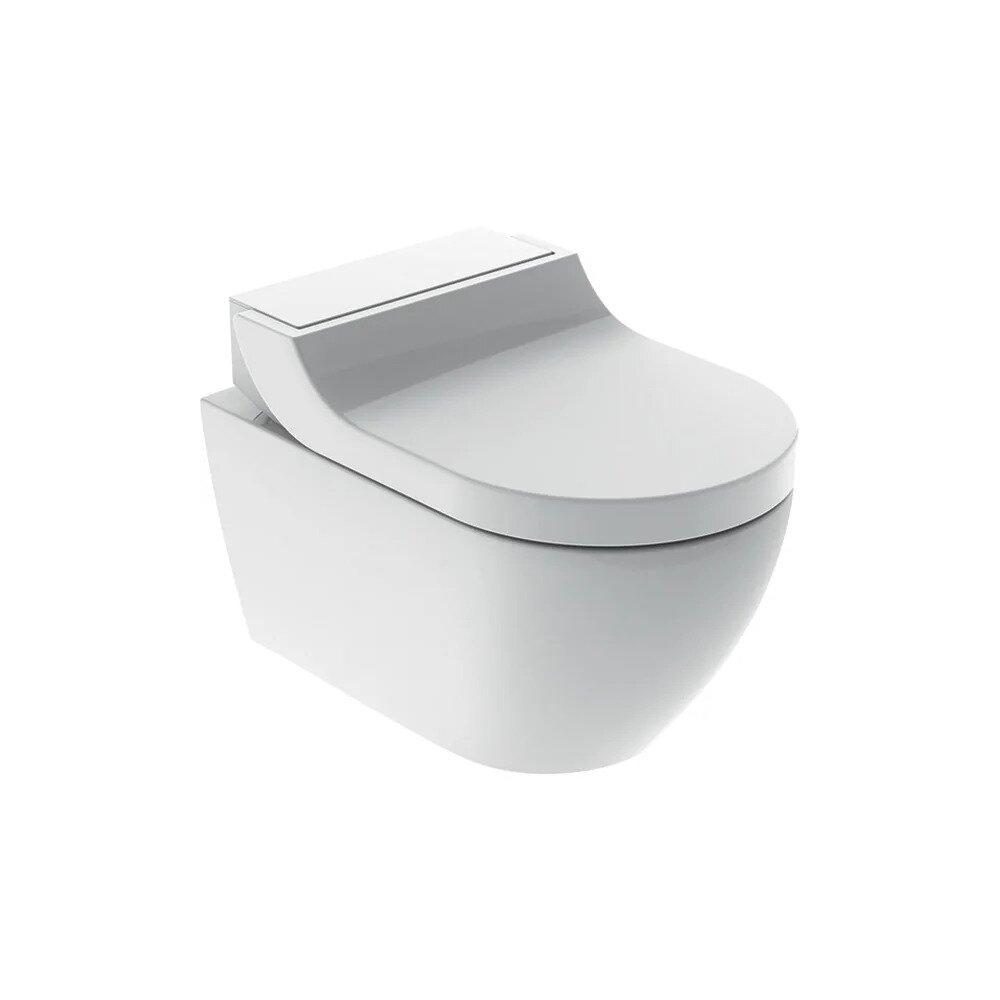 Vas wc suspendat Geberit Aquaclean Tuma Comfort alb alpin cu functie de bideu electric