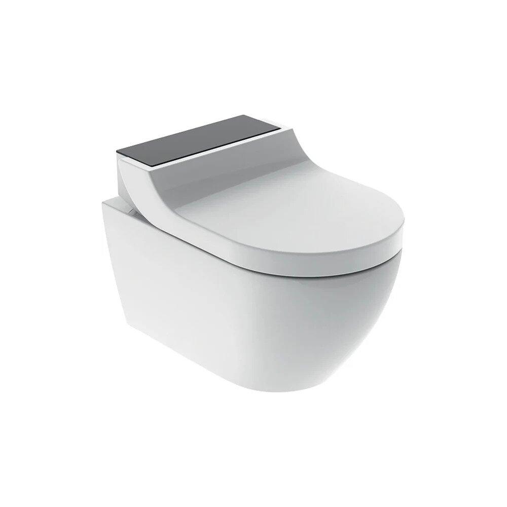 Vas wc suspendat Geberit Aquaclean Tuma Comfort negru cu functie de bideu electric neakaisa.ro