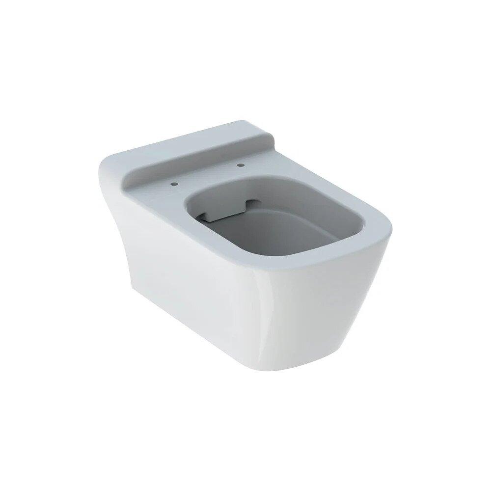 Vas wc suspendat Geberit Myday Rimfree cu spalare verticala alb neakaisa.ro