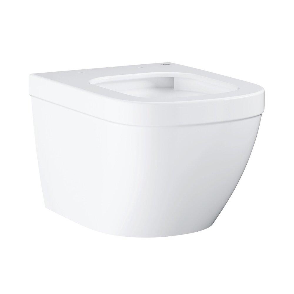 Vas wc suspendat Grohe Euro Ceramic compact cu PureGuard si Triple Vortex poza