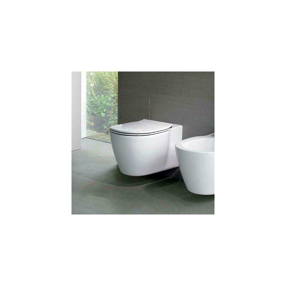 Vas wc suspendat Ideal Standard Connect Aquablade cu fixare ascunsa imagine