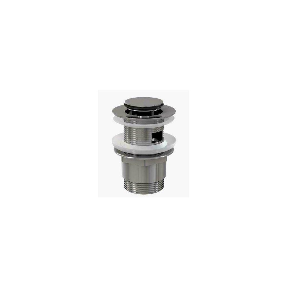 Ventil lavoar metalic cu click/clack 5/4 tol, dop mic A39 Alcaplast poza