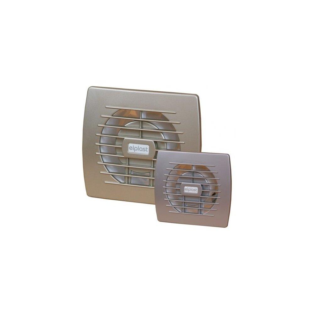 Ventilator de baie 100mm Elplast EOL 100 B GF masca aurie imagine neakaisa.ro