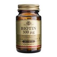 Biotin 300mcg 100tb SOLGAR
