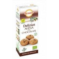 Biscuiti din ovaz cu ciocolata bio 125g Bio Darma PROMO