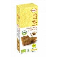 Biscuiti din spelta cu susan, indulciti cu agave bio 135g Bio Darma PROMO