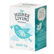 Ceai alb bio, 20 plicuri, Higher Living