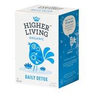 Ceai DAILY DETOX bio, 15 plicuri, Higher Living