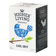 Ceai EARL GREY bio, 20 plicuri, Higher Living