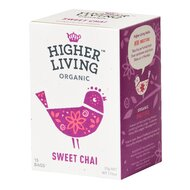 Ceai SWEET CHAI bio, 15 plicuri, Higher Living