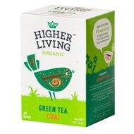 Ceai verde - CHAI - bio, 20 plicuri, Higher Living