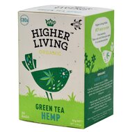 Ceai verde -HEMP- bio, 20 plicuri, Higher Living
