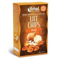 Life Chips din ceapa raw bio 40g