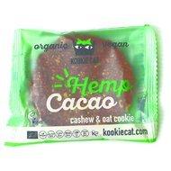 Cookie cu seminte de canepa si cacao fara gluten bio 50g