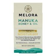 Crema hidratanta MELORA cu miere de MANUKA MGO 300+ si ulei de MANUKA MBTK 25+, 50 ml, naturala